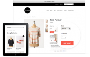 Design a online store
